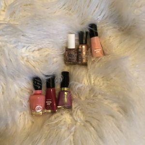 Nail polish set of 6 super cute